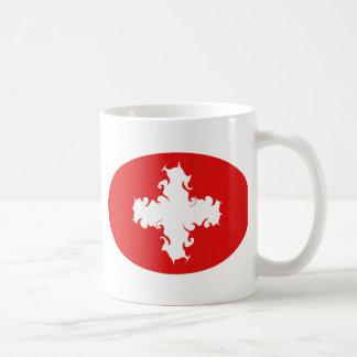 Switzerland Gnarly Flag Mug