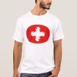 Switzerland Gnarly Flag T-Shirt