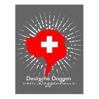 Switzerland Great Dane Postcard
