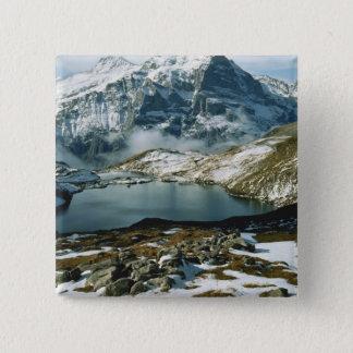 Switzerland, Grindelwald, Bernese Alps, View Button