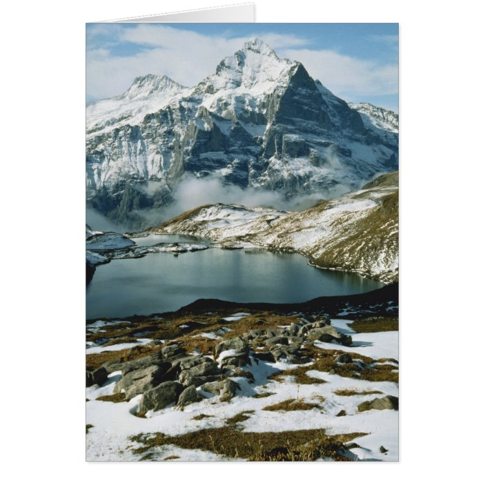 Switzerland, Grindelwald, Bernese Alps, View Card