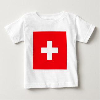 Switzerland High quality Flag T-shirt