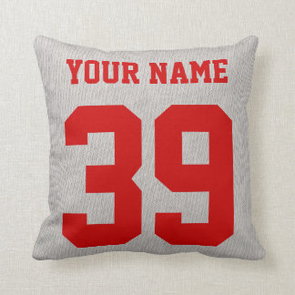 Switzerland Hockey Logo Pillow, Customizable Throw Pillow