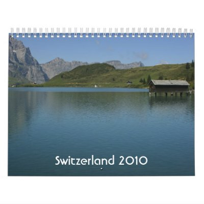 Switzerland in nature 2010 calendar