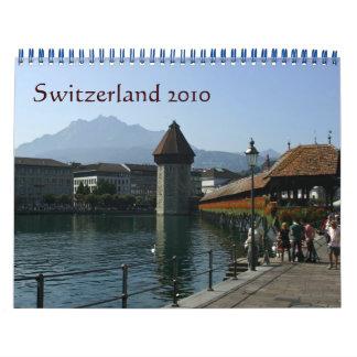 Switzerland in the cities 2010 calendar