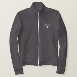 Switzerland Jogger Jacket - Add your own text