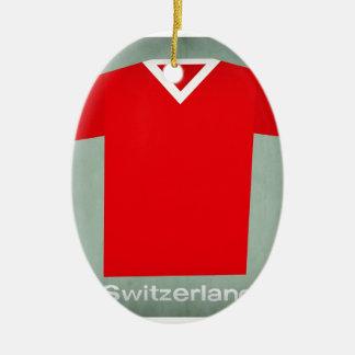 Switzerland.jpg Adorno Ovalado De Cerámica