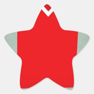 Switzerland.jpg Pegatina En Forma De Estrella