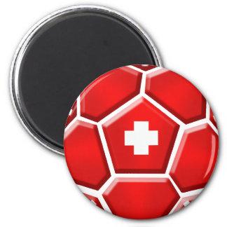 Switzerland La Nati soccer football fans soccer T Fridge Magnet