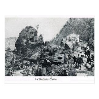 Switzerland, La Tete Noire, Valais Postcard