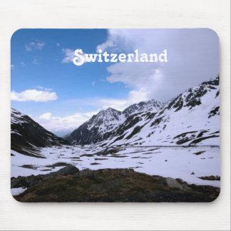 Switzerland Landscape Views Mouse Pad