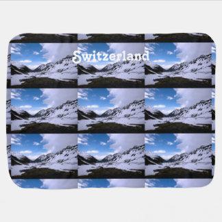Switzerland Landscape Views Baby Blanket