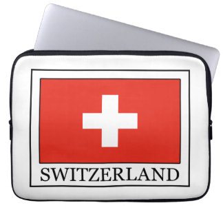 Switzerland laptop sleeve