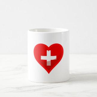 Switzerland love mugs