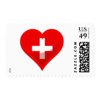 Switzerland Love Stamp