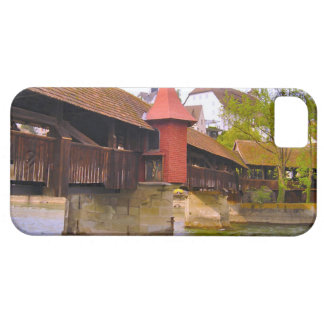 Switzerland, Lucerne chapel bridge iPhone 5 Cover
