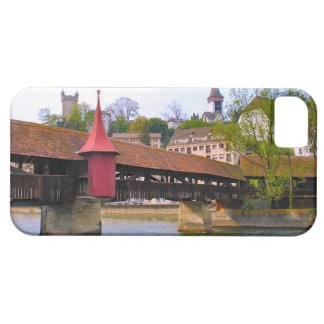 Switzerland, Lucerne chapel bridge iPhone 5 Case