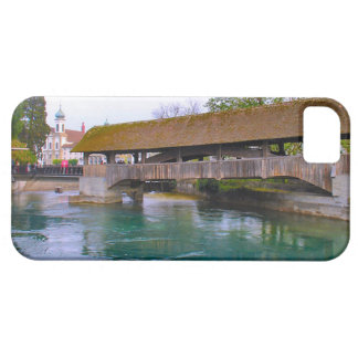 Switzerland Lucerne Medieval wooden bridge iPhone 5 Covers