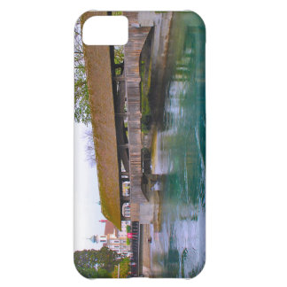 Switzerland Lucerne Medieval wooden bridge Cover For iPhone 5C