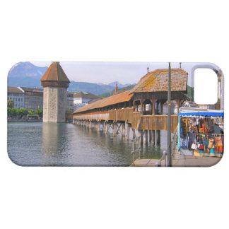Switzerland Lucerne Wooden bridge iPhone 5 Cover