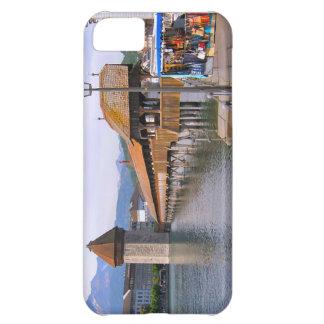 Switzerland Lucerne Wooden bridge Cover For iPhone 5C