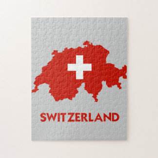 SWITZERLAND MAP JIGSAW PUZZLE