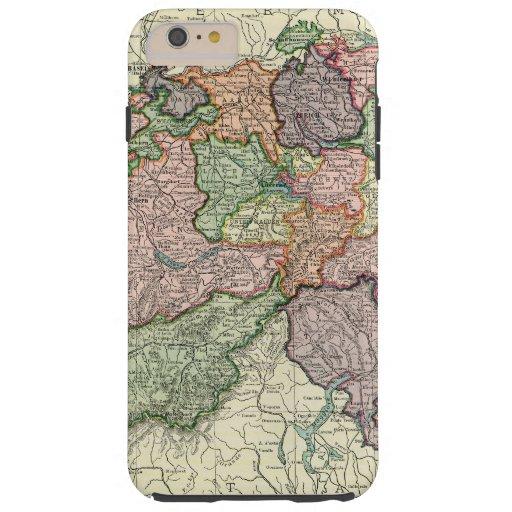 Switzerland Map Vintage iPhone 6 Plus Tough Case