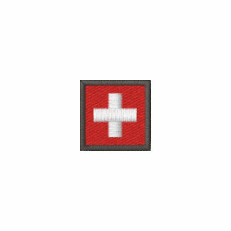 Switzerland Mens Polo Shirt With Swiss Flag