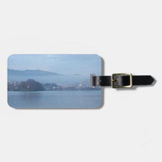 Switzerland mountains bag tags