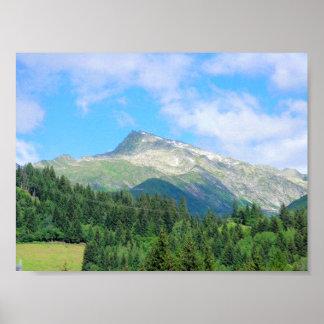 Switzerland Mountains Poster