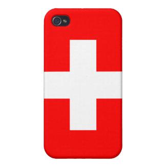 Switzerland National Flag  iPhone 4/4S Cases