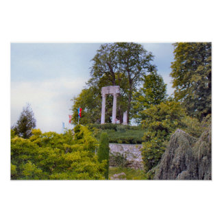 Switzerland, Nyon, Roman remains Poster