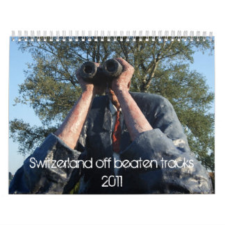 Switzerland off beaten tracks calendar