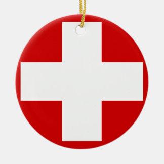 Switzerland Christmas Ornament