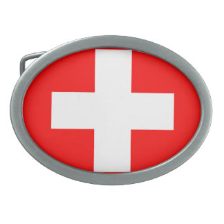 Switzerland Oval Belt Buckle