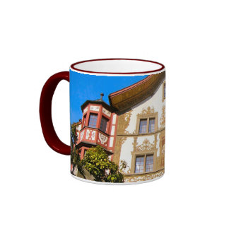 Switzerland,Painted house Mug