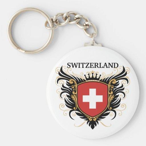Switzerland [personalize] keychains