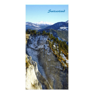 Switzerland Photo Card