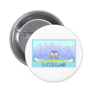 Switzerland Pinback Buttons
