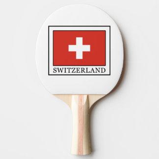 Switzerland Ping-Pong Paddle