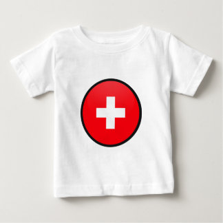 Switzerland quality Flag Circle Shirt