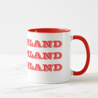 Switzerland* Red Letter Mug