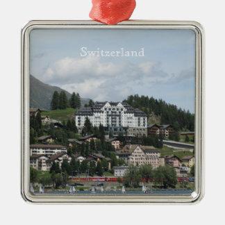 Switzerland resort Ornament