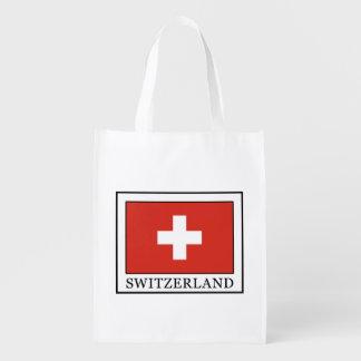 Switzerland Reusable Grocery Bags