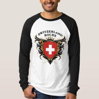 Switzerland Rocks Tee Shirt