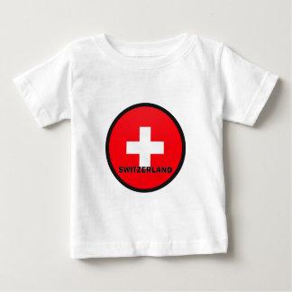 Switzerland Roundel quality Flag T-shirts