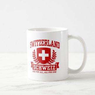 Switzerland Schweiz Classic White Coffee Mug