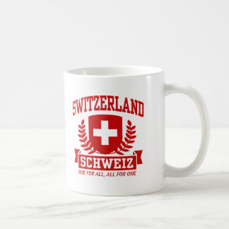 Switzerland Schweiz Coffee Mug