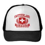 Switzerland Schweiz Mesh Hat