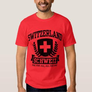 Switzerland Schweiz Tees